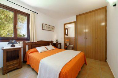 Finca Can Cristet - Schlafzimmer mit Bad en Suite