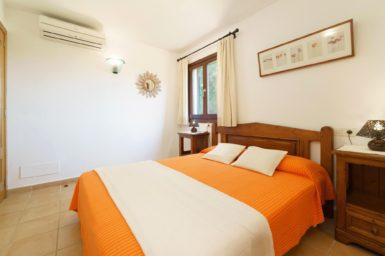 Finca Can Cristet - Schlafzimmer mit Klimaanlage