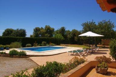 Finca Can Pere Juan - Garten mit Pool