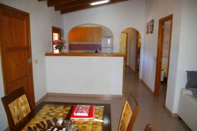 Finca Can Pere Juan - Wohnbereich mit offener Küche