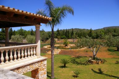 Einmalige Gartenanlage der Finca Casa Grande