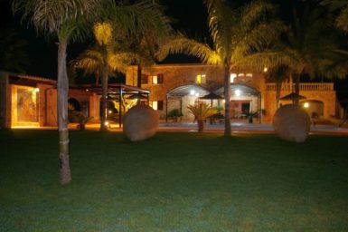 Finca Casa Grande bei Nacht