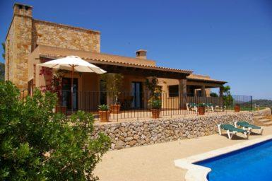 Finca Mallorca mit einmaligen Blick bis zum Meer