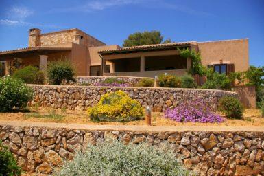 Finca El Cel - Terrassen ähnlicher Garten