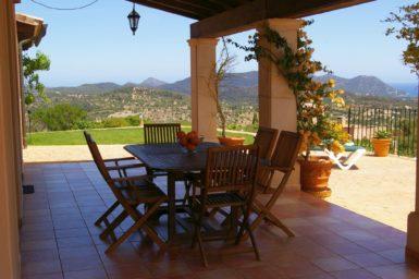 Finca Mallorca mit Ausblick