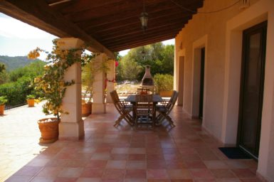 Finca El Cel - Terrasse mit Essplatz