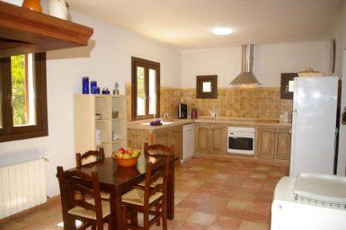 Finca El Cel - Küche mit Essplatz