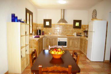 Finca El Cel - voll ausgestattete Küche