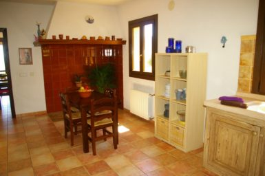 Finca El Cel - Esstisch in der Küche