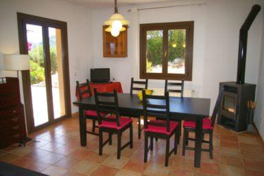 Finca El Cel - Essplatz im Haus