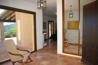 Finca El Cel - Durchgang zum Wohnbereich
