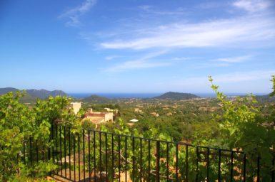 Finca El Cel - Terrasse mit Ausblick
