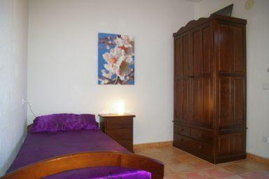 Finca El Cel - kleines Schlafzimmer im OG