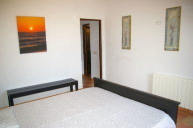 Finca El Cel - Schlafzimmer mit Bad en Suite