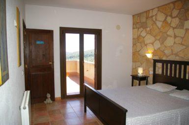 Finca El Cel - Schlafzimmer mit Terrasse