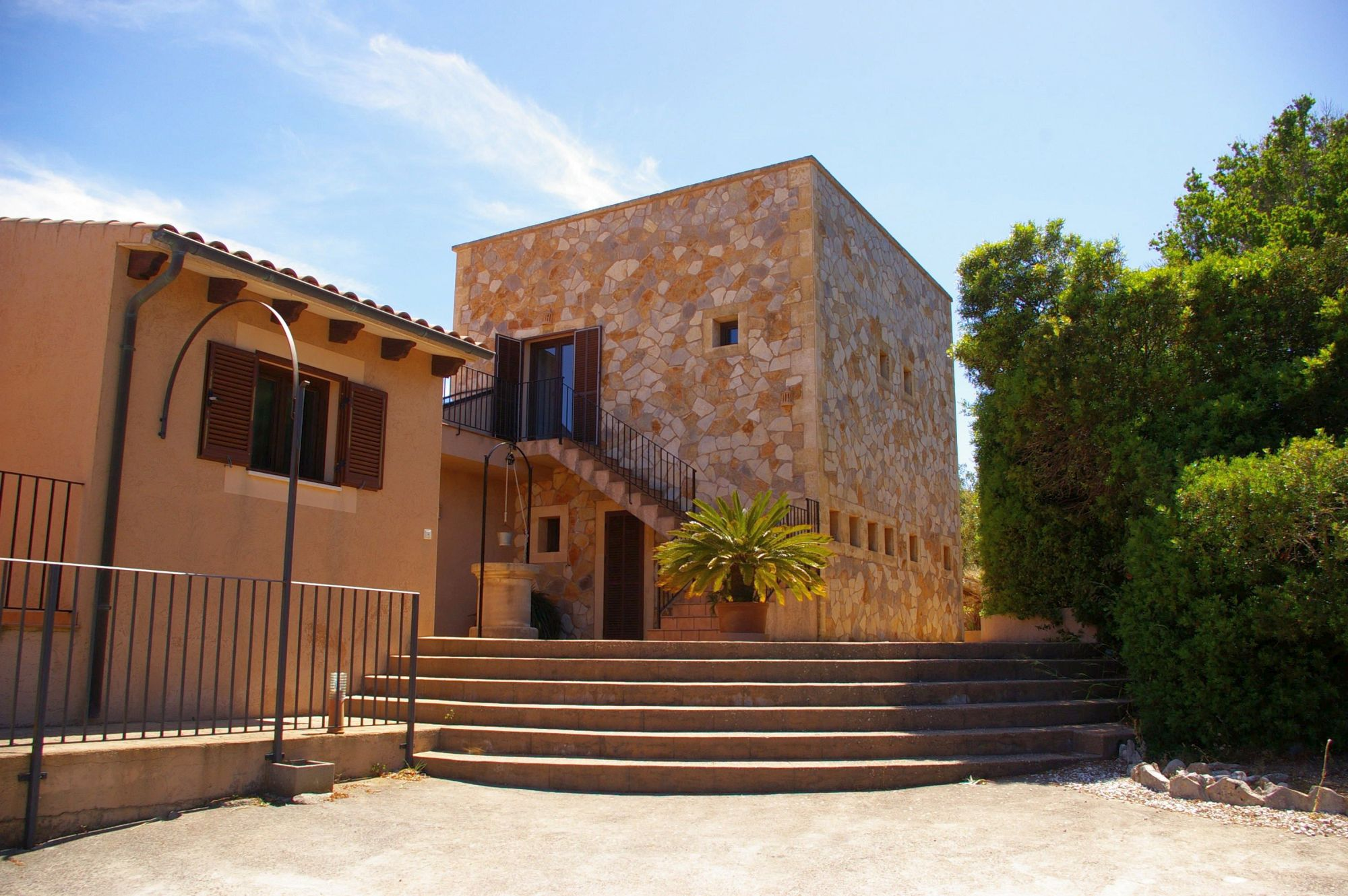 Finca El Cel - Treppe zum Hauseingang