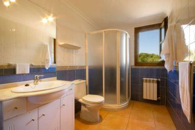 Finca Es Corto - Bad mit Dusche