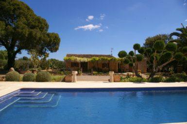 Finca Mallorca nahe Porreres für 4 Personen