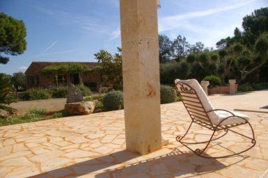 Finca Es Garrigo - Blick aufs Haus