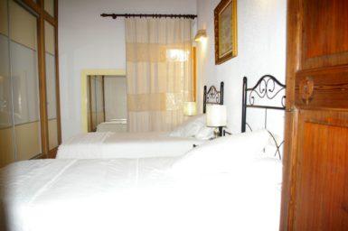 Finca Es Garrigo - Schlafzimmer mit 2 Einzelbetten