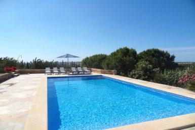 Finca mit großen Pool zum mieten