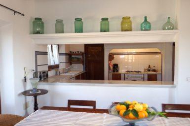 Küche Finca Es Pinar