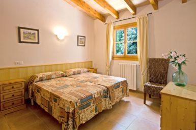 Finca Es Puchet - Schlafzimmer für 2 Personen