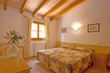 Finca Es Puchet - Schlafzimmer mit Zentralheizung