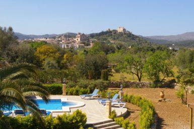 Blick auf Arta von der Finca Mallorca