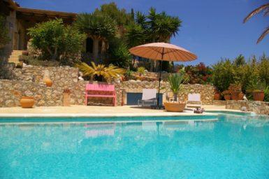 Finca La Roca privater Pool mit Poolterrasse