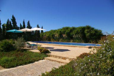 Finca Na Pont - Weg zum Pool