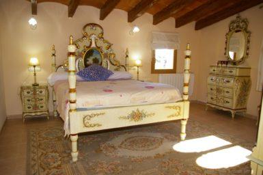 Finca Na Pont - Schlafzimmer mit Doppelbett im OG