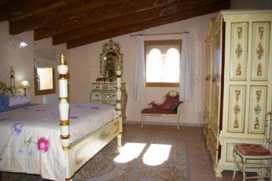 Finca Na Pont - Schlafzimmer mit Bad en Suite