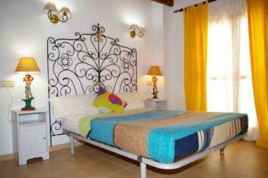 Finca Na Pont - Schlafzimmer mit Doppelbett