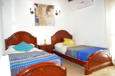 Finca Na Pont - Schlafzimmer mit 2 Einzelbetten