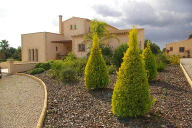 Schöne Gartenanlage Finca Mallorca