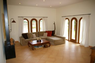 Wohnzimmer Finca nahe Cas Conocs