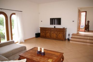 Sat-TV im Wohnbereich Finca Mallorca