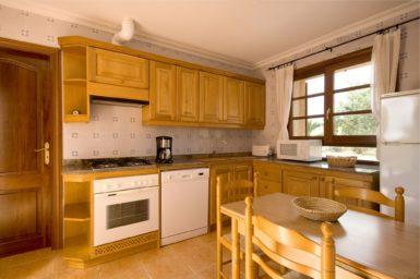 Finca Rustica - Küche mit Essplatz
