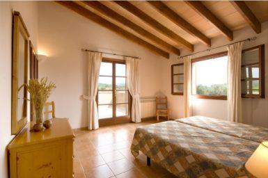 Finca Rustica - Schlafzimmer mit Terrasse