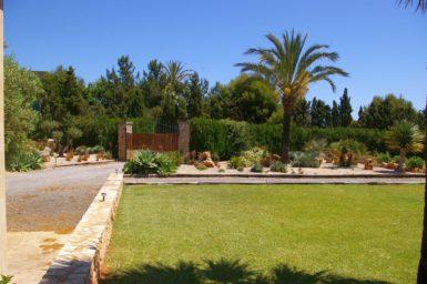Finca S'Hort - schöner Garten