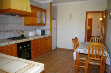 Finca S'Hort - Küche mit Essplatz