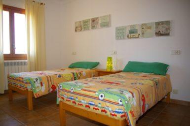 Finca S'Hort - Schlafzimmer mit 2 Einzelbetten
