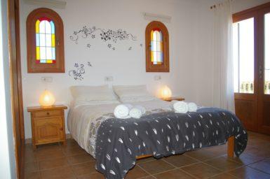 Finca S'Hort - Schlafzimmer mit Bad en Suite