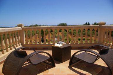 Finca S'Hort - Balkon