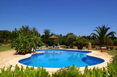 Finca S'Hort - Poolbereich