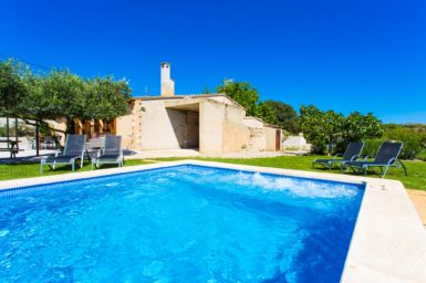 Finca Sa Clova - Pool mit Whirlpoolfunktion