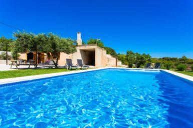 Pool Finca zum mieten nahe Arta