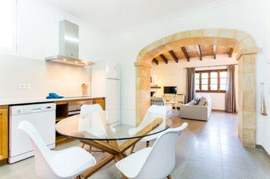 Finca Sa Clova - Durchgang zum Wohnbereich