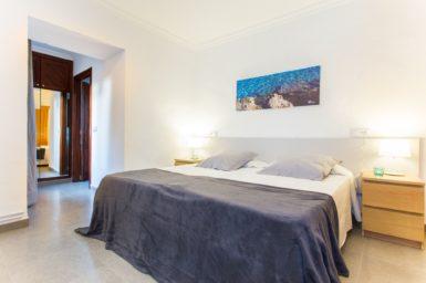 Finca Sa Clova - Schlafzimmer mit Doppelbett